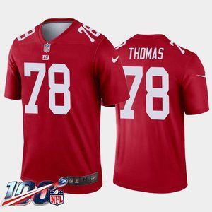 New York Giants Andrew Thomas Red Jersey
